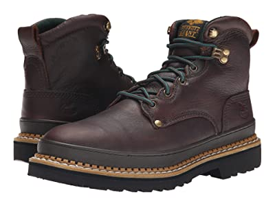 Georgia Boot G6374 6 Safety Toe Georgia Giant (Brown) Men