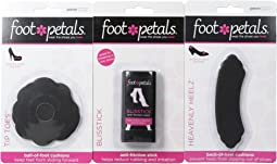 Foot Petals Blisstick, Heavenly Heelz 1 Pair Pack, and Tip Toes 1 Pair Pack
