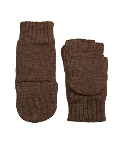 UGG Knit Flip Mitten with Conductive Leather Palm (Stout) Extreme Cold Weather Gloves