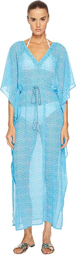 Letarte - Printed Maxi Dress Cover-Up