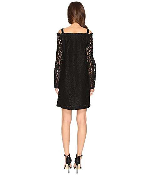 Lace by Long See Straps Dress Sleeve Chloe E8qx01AP
