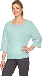 Danskin Women's Lounge Wide-Neck Pullover