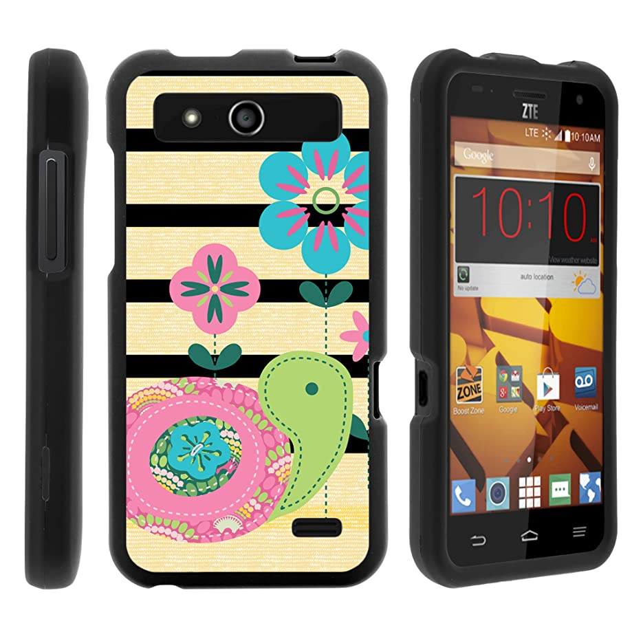MINITURTLE Case Compatible w/ZTE Speed Phone Case, Armor Snap On Hard Case Protector Cover w/Customized Design for ZTE Speed N9130 (Boost Mobile) Little Turtle
