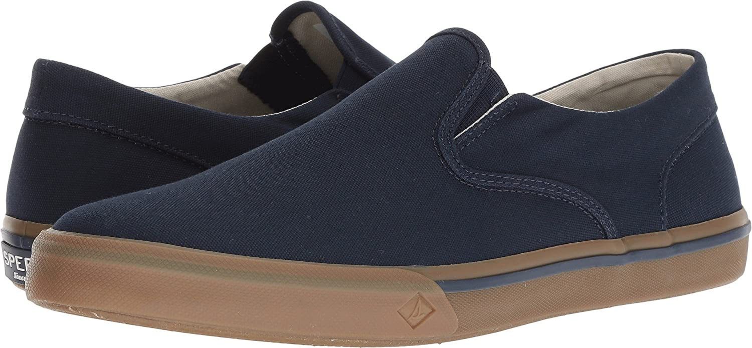 Sperry Men's Striper II Twin Gore Navy Canvas Gum 7 M US