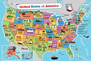 Kids United States Map | Wall Poster 13