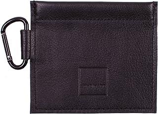 Acme Made Mini bolsa de piel auténtica con resorte, color negro AM11611