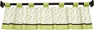 Disney My Friend Pooh Window Valance, Sage/Ivory