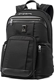 Travelpro Platinum Elite-17-Inch Business Laptop Backpack, Shadow Black, 17.5-Inch