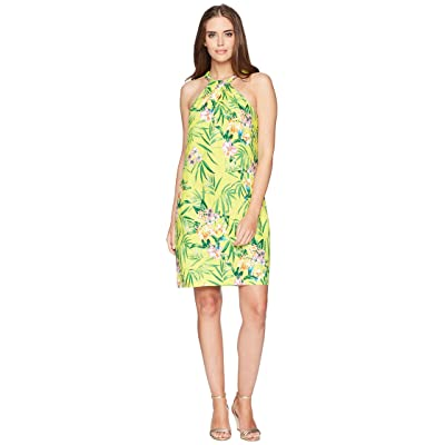 Tommy Bahama Humming A Bloom Halter Dress (Sulphur Spring) Women