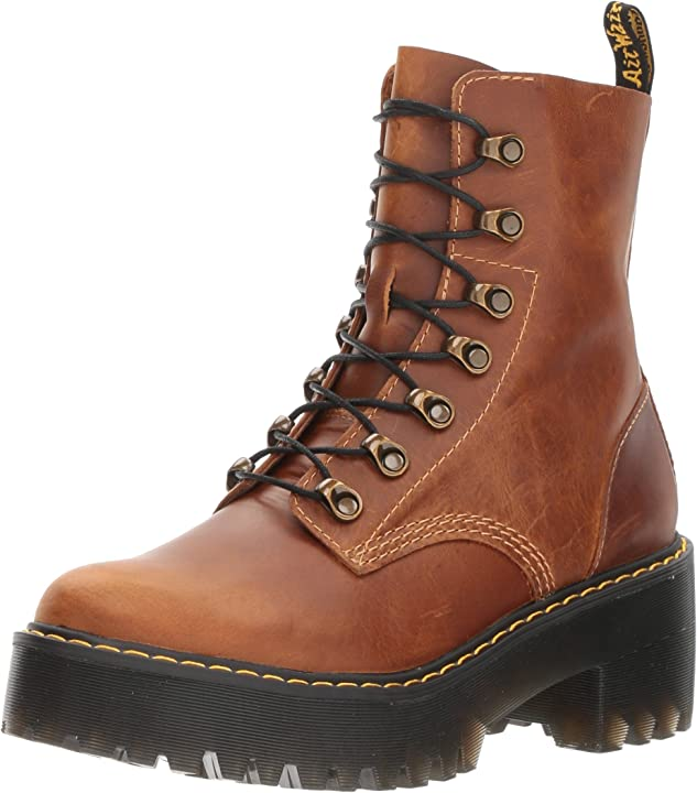 Anfibi dr. martens women`s pascal ankle-high leather boot B01N1XGFFZ
