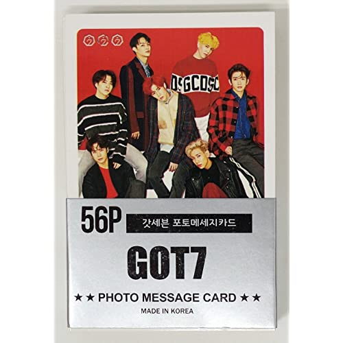 GOT7 - MINI POSTCARD PHOTOCARD SET 56pcs by JYP Entertainment