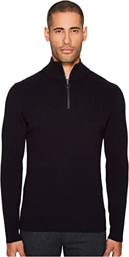 Vince - 1/2 Zip Mock Neck