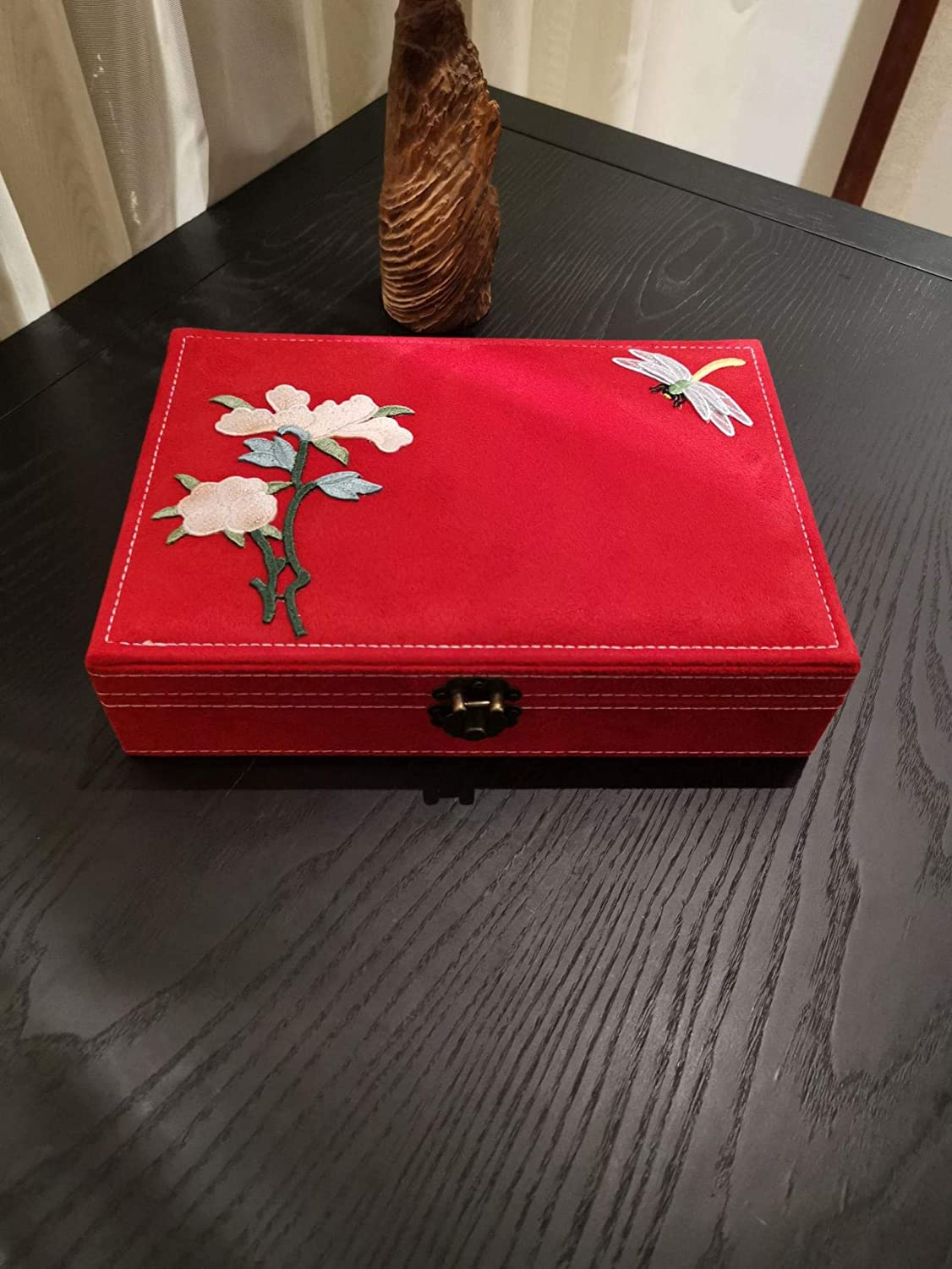 NEW before selling ☆ Payanwin Vintage Jewelry Box Singl and Women's Men's Ranking TOP15