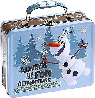 Dsney Frozen Embossed Tin Lunch Box