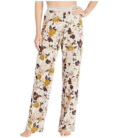 Hanro Ami Long Pants (Flower Pastel) Women