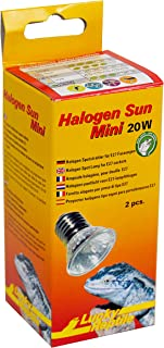 Lucky Reptile - Lámpara halógena de Sol (tamaño pequeño) 20W