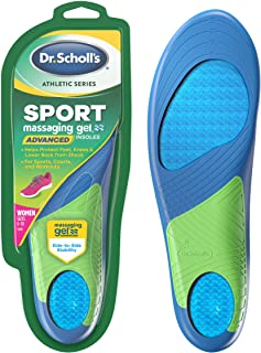 Dr. Scholl's Sport Insoles // Superior Shock Absorption and Arch Support to Reduce Muscle Fatigue and Stress on Lower Body...