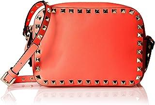 حقيبة كاميرا للنساء من فالينتينو روكستد، لون وردي
