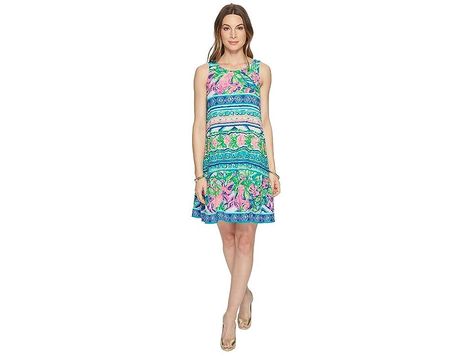 Lilly Pulitzer Gabriella Dress (Multi Daiquiri Shack Engineered) Women