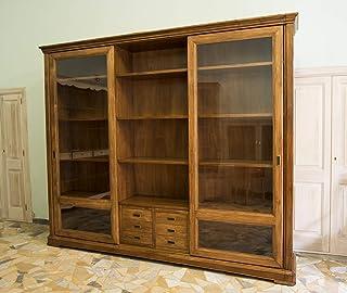 Ebanisteria Gambella - Bibliothèque à portes coulissantes