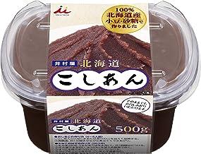 井村屋 北海道こしあん 500g ×6個