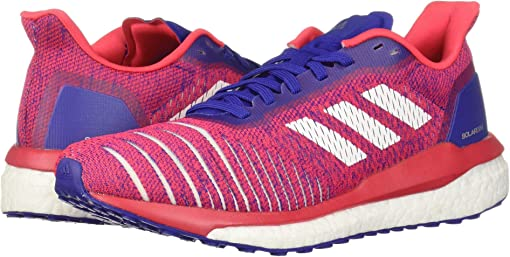 Active Blue/Footwear White/Shock Red