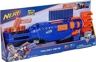 Lanca Dardo Nerf Elite Trilogy Ds15 - E3821 Nerf Azul/laranja
