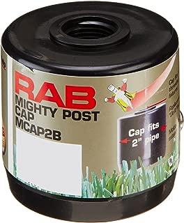 RAB Lighting MCAP2B Mighty Post Cap for 2
