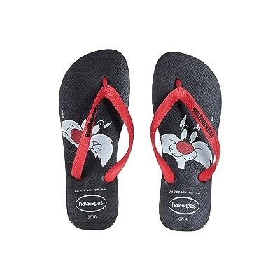 Havaianas Looney Tunes Flip-Flops (Black/Red) Women