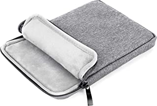 Tesecu External DVD CD Drive Writer Hard Drive Anti-Shock Protective Storage Carrying Case Bag Waterproof, Also Applicable for iPad Mini and iPad air, Dark Gray