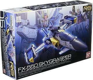 Bandai Hobby RG #6 Skygrasper with Launcher/Sword Pack Gudnam Seed Model Kit (1/144 Scale)