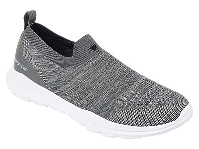 Vance Co. Pierce Casual Slip-On Knit Walking Sneaker