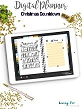 Printable Journal Christmas Countdown Kit for your Digital Planner (GoodNotes)