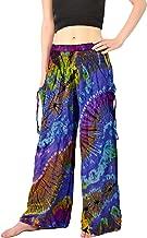 Orient Trail Women's Cold Dyed Wide Leg Palazzo Yoga Tie Dye Pants