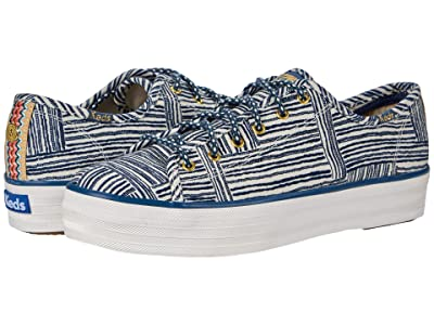 Keds Jungalow x Triple Kick (Quinn Blue Multi) Women