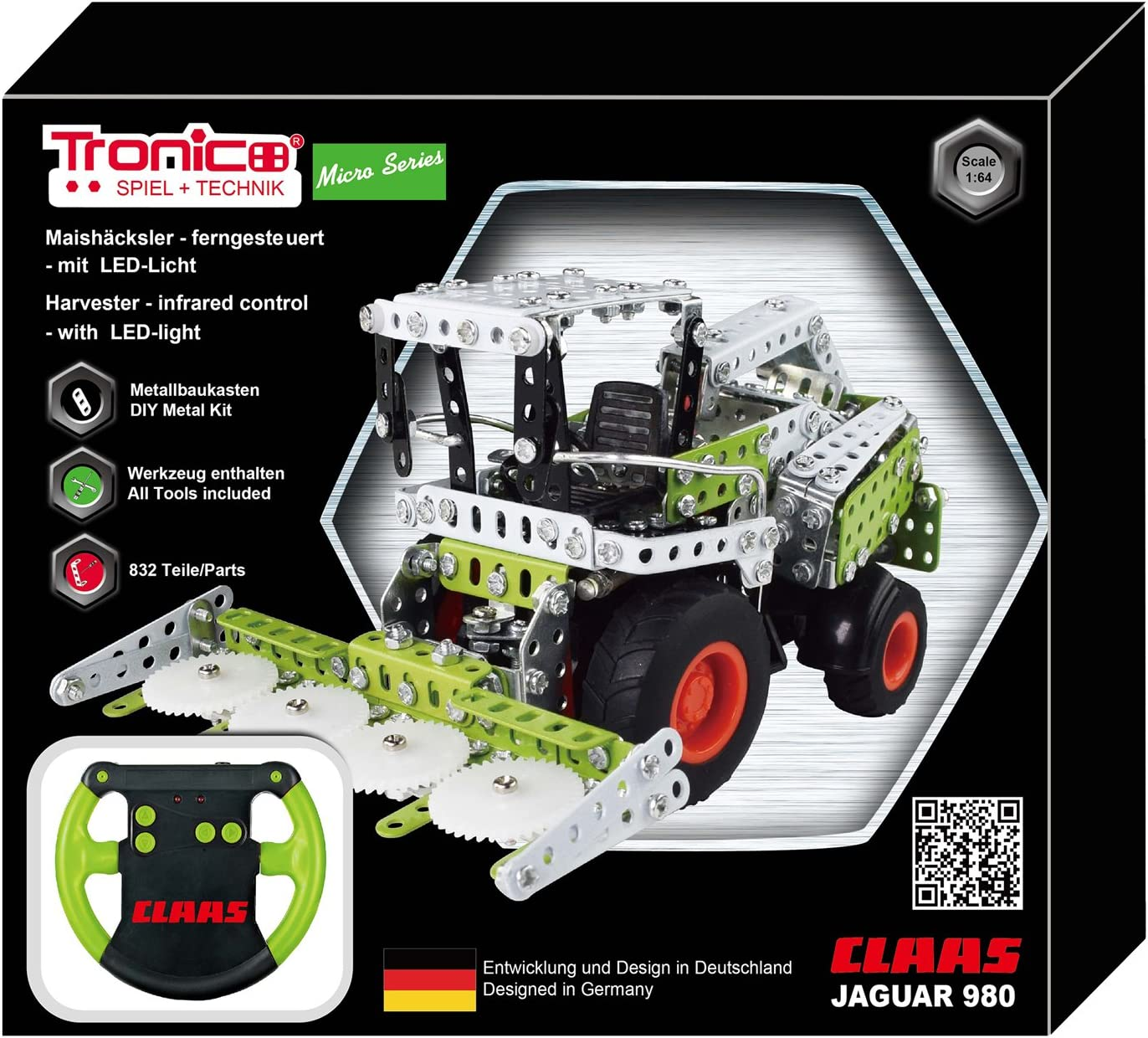 Tronico Ranking TOP5 At the price Toys 09511Metal Kit–Remote Construction