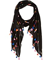 Kate Spade New York - Flock Party Oblong Scarf