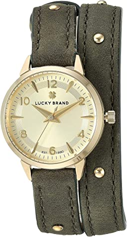 Torrey Olive w/ Gold Studs Watch - LW00186
