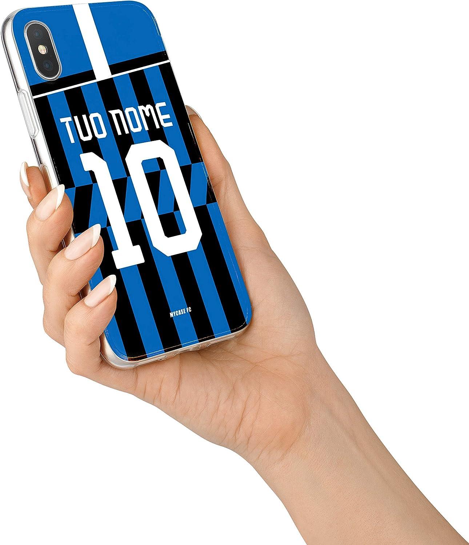 MYCASEFC Custodia Inter Milano Cover Personalizzabile in Silicone ...