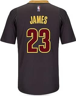 LeBron James Men's Black Cleveland Cavaliers adidas Swingman Jersey