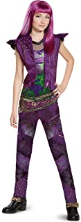 Disney Mal Classic Descendants 2 Costume Purple Large (10-12)