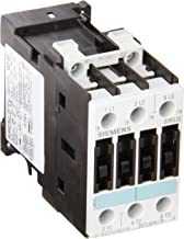 Siemens 3RT10 26-1BB40 Motor Contactor, 3 Poles, Screw Terminals, S0 Frame Size, 24V DC Coil Voltage