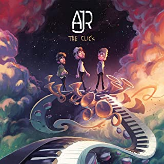 Burning Desire Poster Album Cover Poster Thick AJR 12x18inches