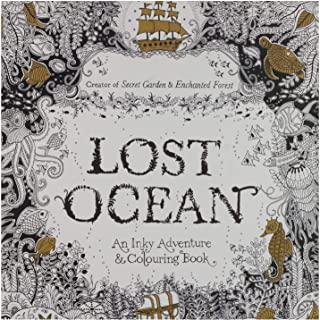Other Lost Ocean Colour Book, Multi Color