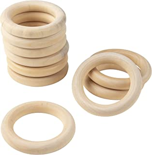 Best wood drapery rings Reviews