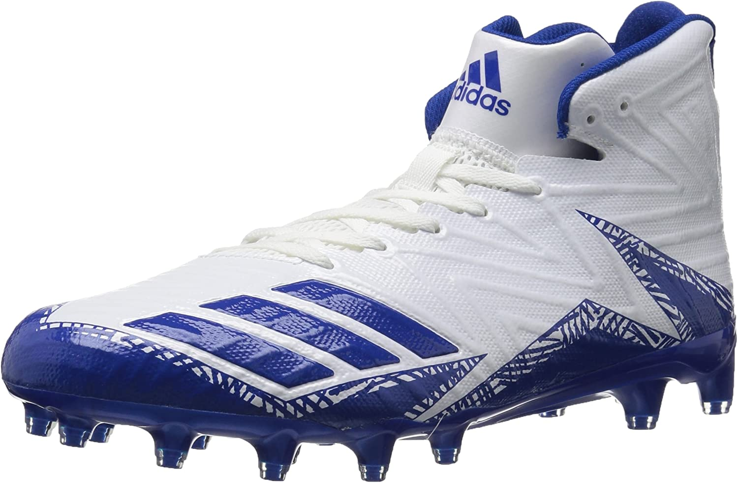 Adidas herrar Freak X bilbon Mid Football Football Football skor, vit Collegiate Royal, 9 Medium US  perfekt