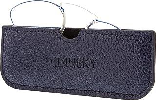 DIDINSKY - Gafas de Lectura sin Patillas Graduadas Anti-bluelight para Hombre y Mujer. Anti-reflejantes y Anti Luz Azul Flexibles de Bolsillo. 3 colores y 5 graduaciones – HERMITAGE BUTTERFLY