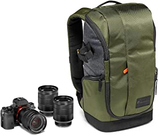 Manfrotto Lifestyle MB MS-BP-GR Clever Street Camera Backpack for CSC, Laptop Pocket, Khaki