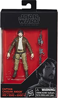 Star Wars Rogue One The Black Series Captain Cassian Andor Exclusive Action Figure, 3.75 Inches and Imperial Death Trooper by STAR WARS