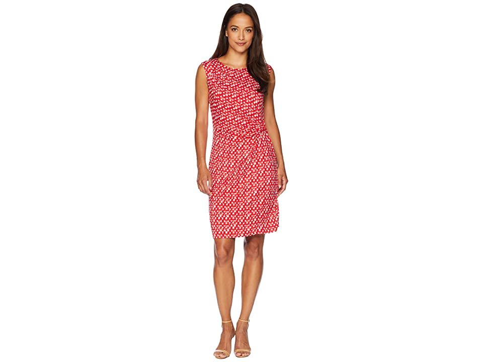 NIC+ZOE Petite Two To Tango Twist Dress (Multi) Women